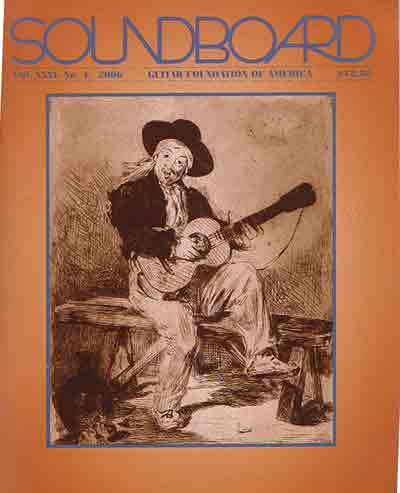 """SoundBoard Magazine reviews """"The Principles of Correct Practice For Guitar"""""""