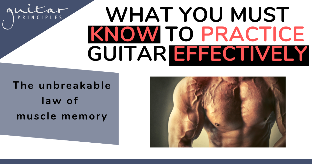 must know to practice muscle memory