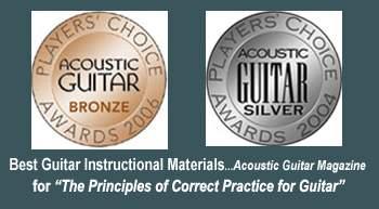 Acoustic Guitar Award For Guitar Principles